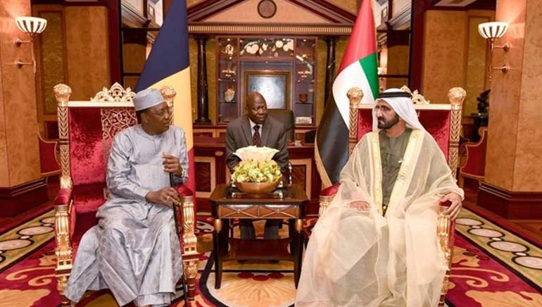 Chad President Idriss Deby Visits the UAE