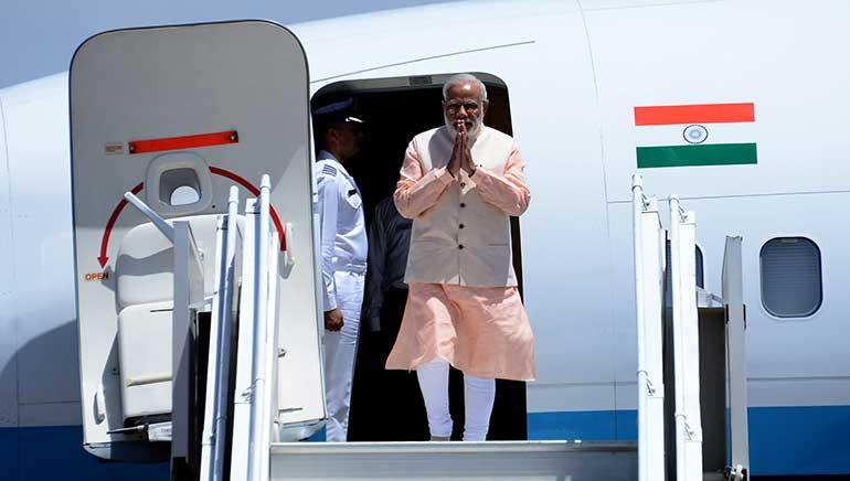 Modi's 5 Nation Tour