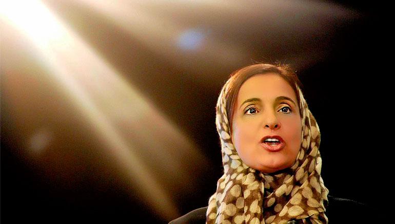 H.E Sheikha Lubna Khalid