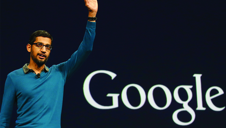Sundar Pichai is Google CEO