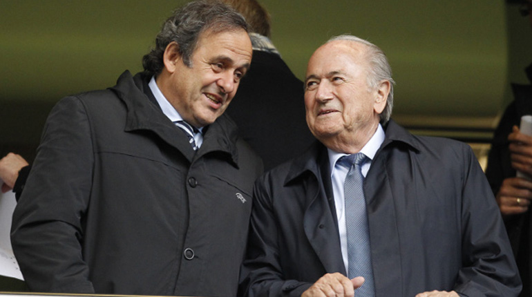 FIFA: Sepp Blatter and Michel Platini get Eight-Year Bans