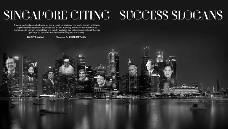 Singapore Citing Success Slogans