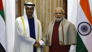 India & The UAE Relations: Supporting Stability & Strength in Mutual Economic Corridors