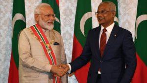 Maldives conferred country's highest civilian honor on PM Modi