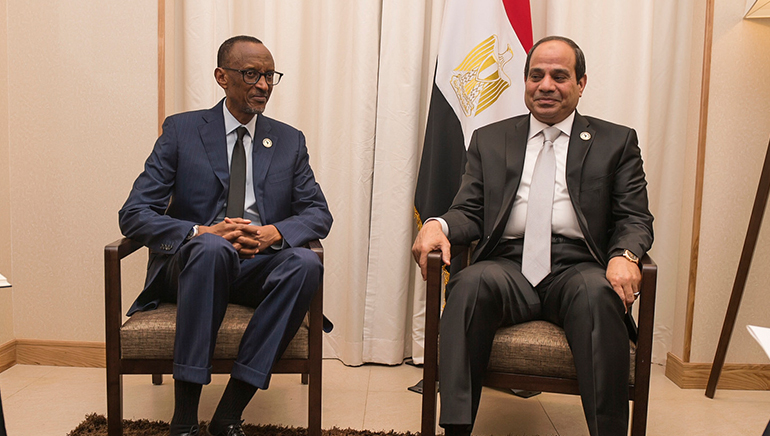 Egypt's President Abdel Fatah Al-Sisi elected as new chair of African Union