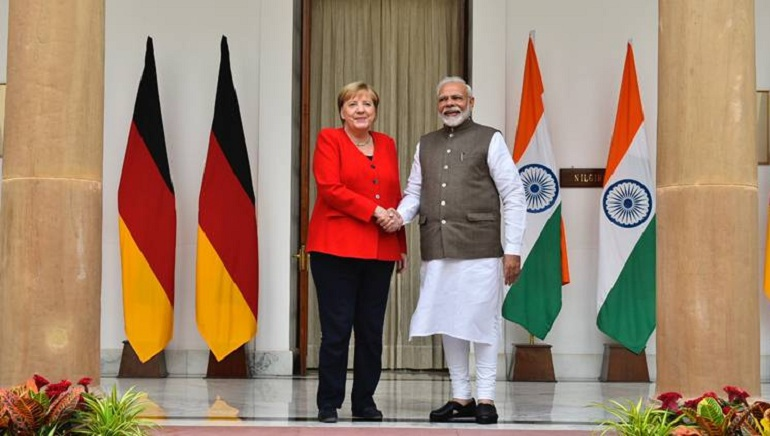 India- Germany strengthen bilateral ties, Sign 17 MoUs & 5 Joint Declarations