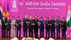 16th ASEAN-India Summit 2019 held in Thailand