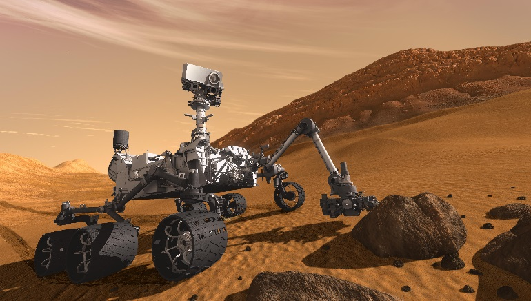 Nasa's Curiosity Rover Detect High Levels of Methane on Mars