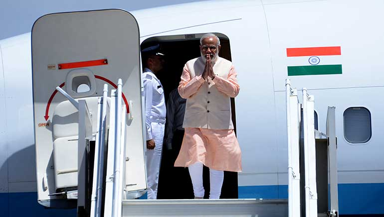 Modi's 5 Nation Tour