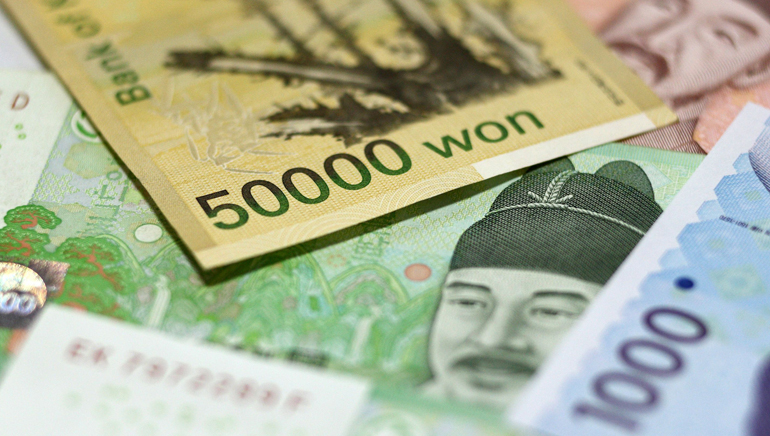 South Korea Records Slow Economic Growth