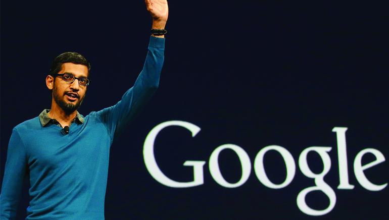 Sundar Pichai is Google CEO