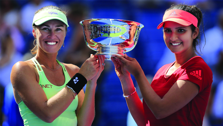 Martina and Sania Win Their Sixth Title