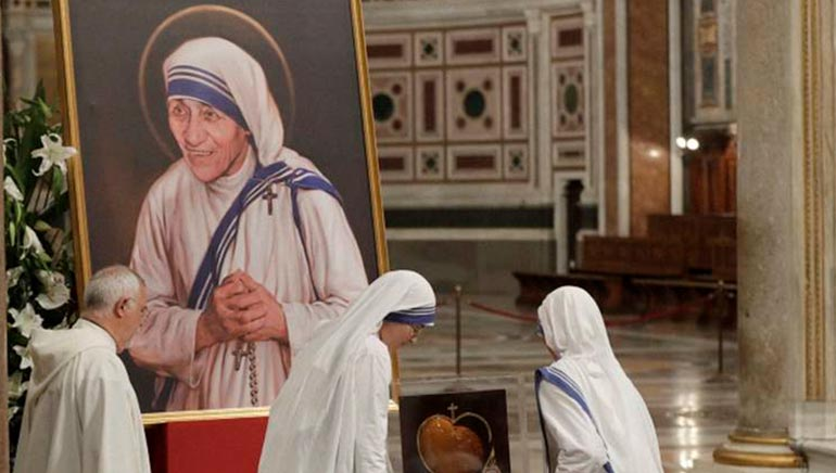 Mother Teresa Declared a Saint at Vatican