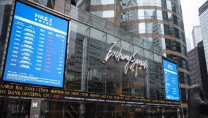 Hong Kong stock market becomes World's 3rd largest