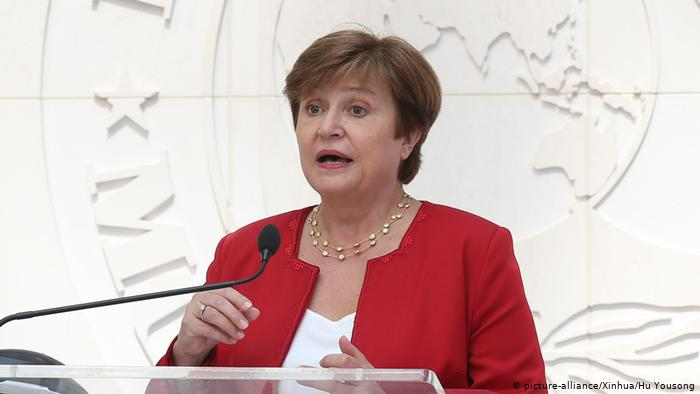 Bulgaria's Kristalina Georgieva appointed new IMF Chief