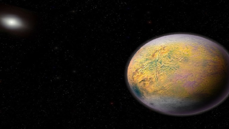 Scrawny Dwarf Planet Nicknamed Goblin Discovered