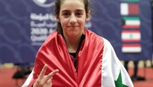 12-year-old Hend Zaza is the youngest athlete at Olympics