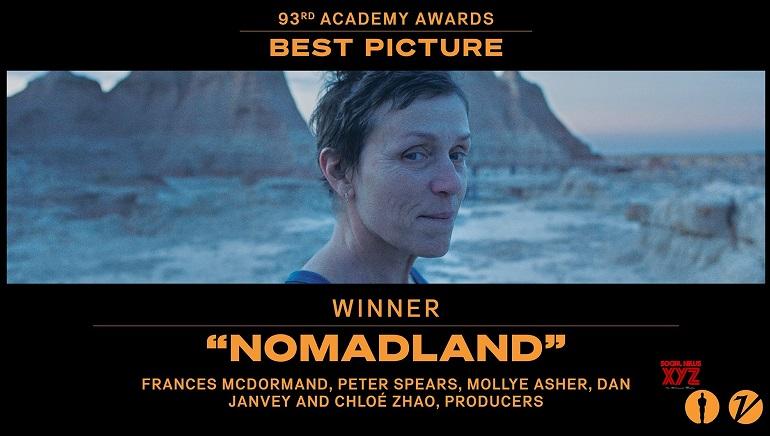 BAFTA Awards: Nomadland Wins Four Prizes