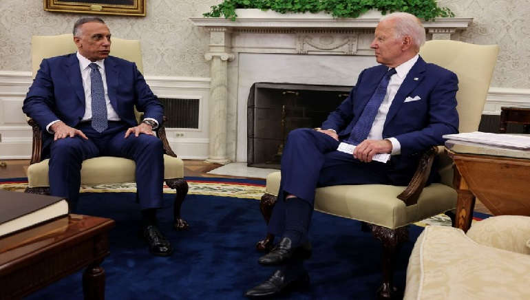Biden and Kadhimi seal agreement to end the 18-years-old US combat mission in Iraq