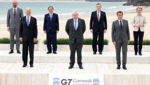 G7 Leaders Sign Carbis Bay Declaration