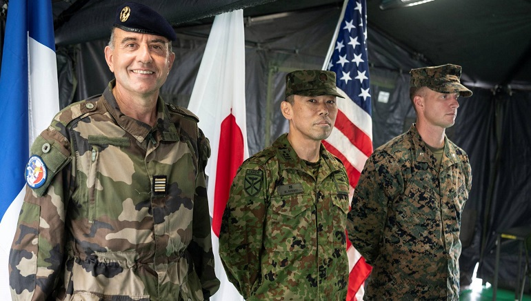 Japan To Host First Joint Military Exercise With Us And France