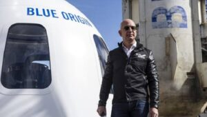 Jeff Bezos to make history with unpiloted suborbital flight in 2 day