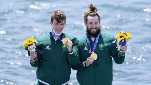 Rower's from Ireland wins first gold at Tokyo Olympics