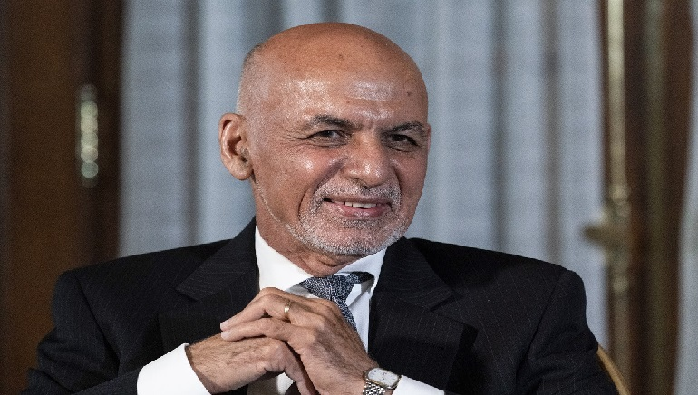 Taliban say they won't monopolize power but President Ghani must go