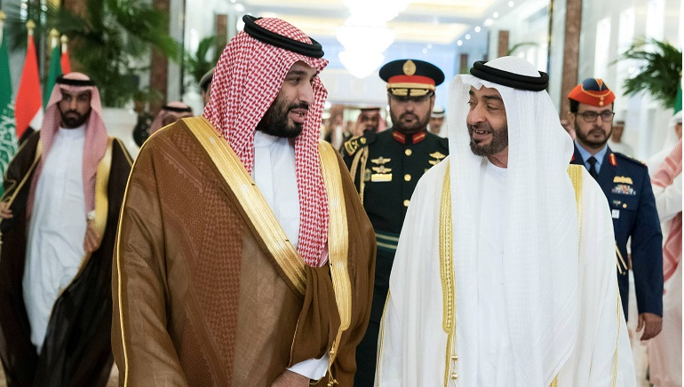 Are pushed-up oil prices the result of Gulf Rivalry?