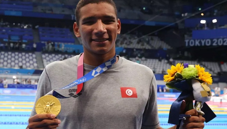 Hafnaoui from Tunisia wins Africa's first Tokyo gold