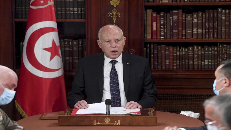 US States Secretary Presses on Democracy On Call with Tunisia president