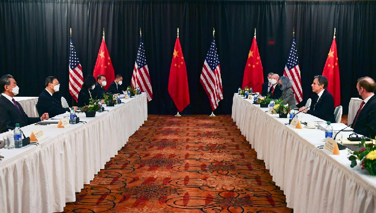 US and China trade barbs after the latest tense high-level meeting