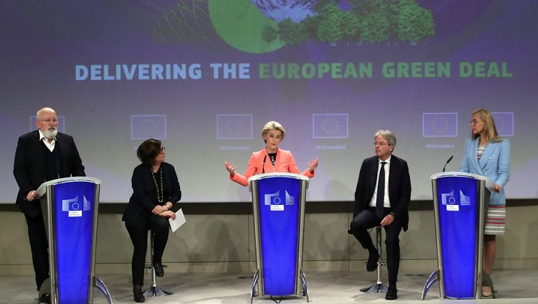 Sweeping climate change plan unveiled by the European Union