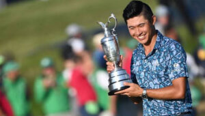 Golfer Collin Morikawa Debuts with a Win at the British Open