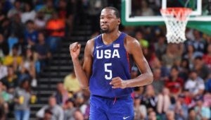 Durant becomes the top scorer in the U.S. men's Olympic history