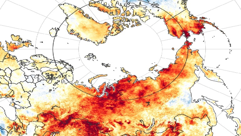 Europe's 2020 Heat Reached 'Troubling' Level