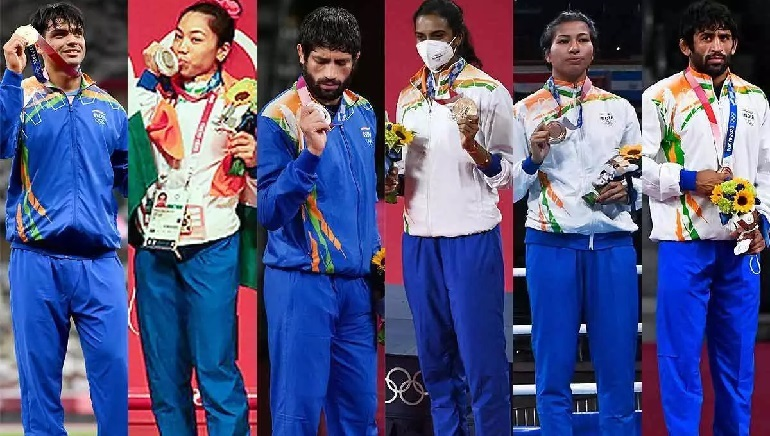 India finishes 48th, best in four decades; 33rd in terms of overall medal won at the Olympic Games