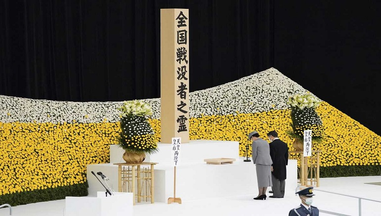 Japan Mark's The 76th Anniversary Of WWII Defeat; No Suga Apology