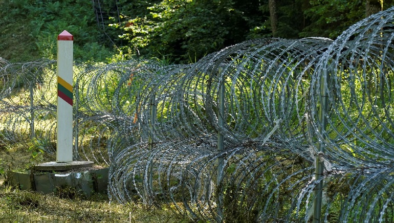 Lithuania to build the fence on Belarus border