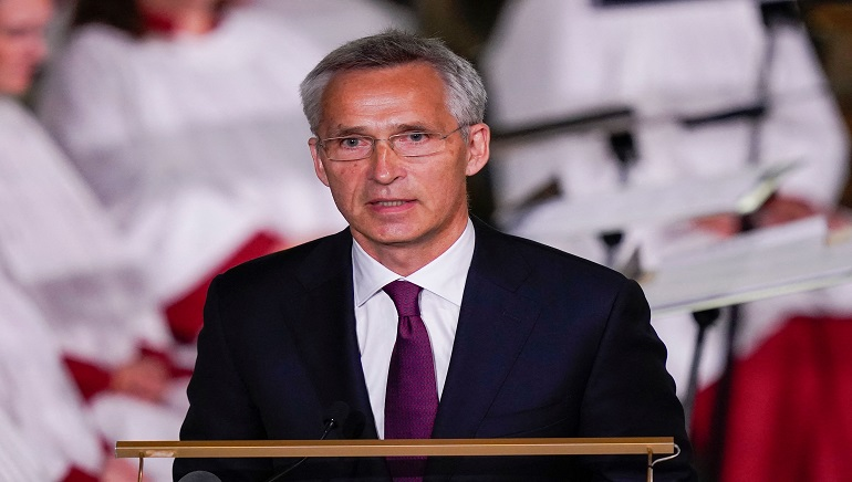 Nato Chief Stoltenberg Blames Afghan Leadership For Kabul Collapse