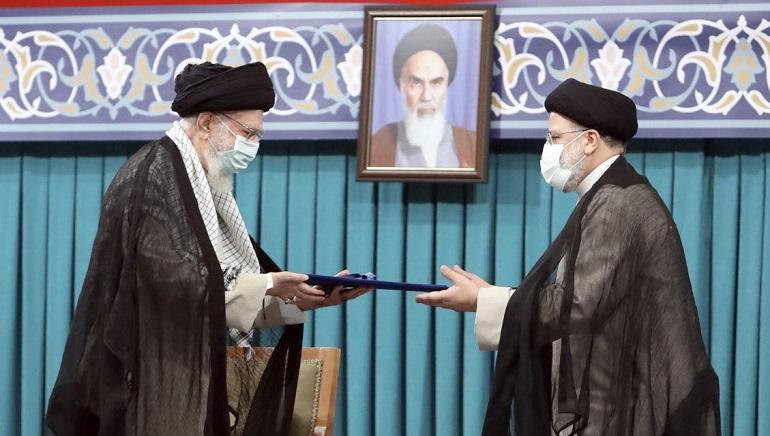 New President Ebrahim Raisi Of Iran Calls Macron About Stalled Nuclear Talks