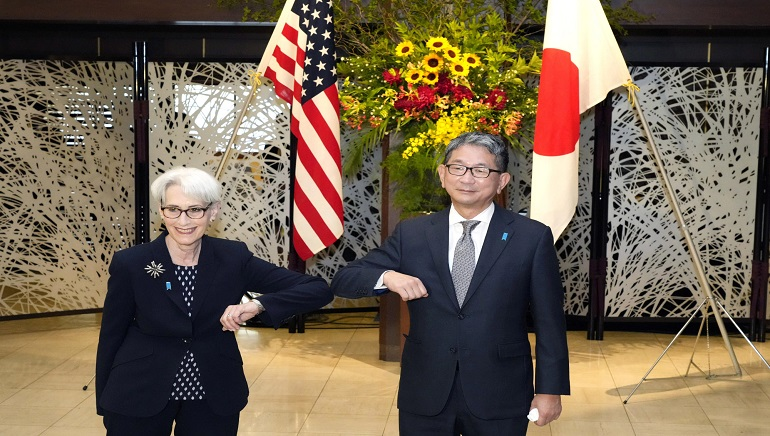 U.S. State Deputy Secretary Wendy Sherman to meet China's new ambassador