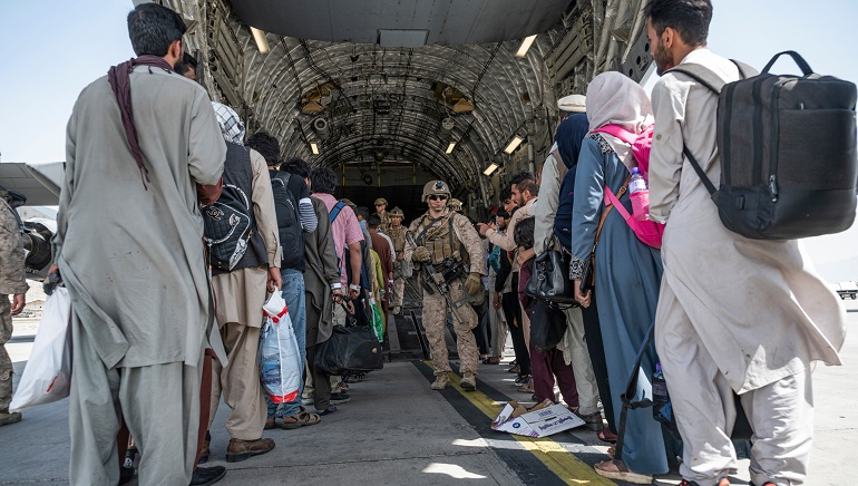 The US Aims To Complete Afghanistan's Evacuations By Deadline