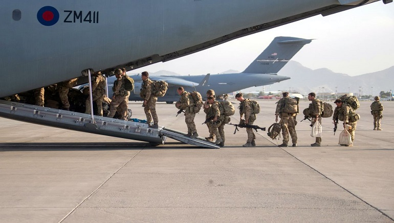 The United States Ends Two-decade presence in Afghanistan