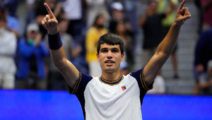 Alcaraz Become The Youngest In Open Era To Reach Men's q-finals At Flushing Meadows
