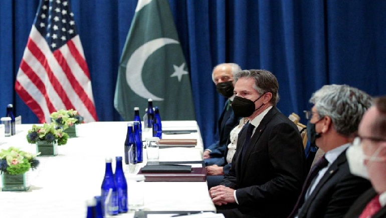 After Talk With Pakistan and China, Blinken Sees Unity on Taliban