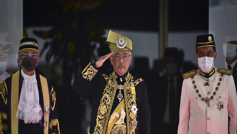 Malaysian King Welcomes Bipartisan Cooperation