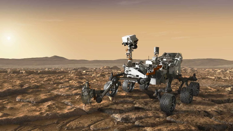 NASA's Perseverance Rover Successfully Collects First Rock From Mars