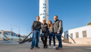 SpaceX Falcon 9 rocket took to Earth's Orbit with All-Civilian Crew