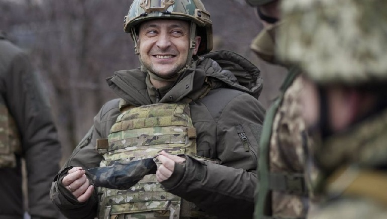 Ukraine's Leader To Talk With Biden On Security, Russia Gas